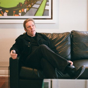 I4_Roger Nelson at home in St Kilda, Melbourne, May 2012