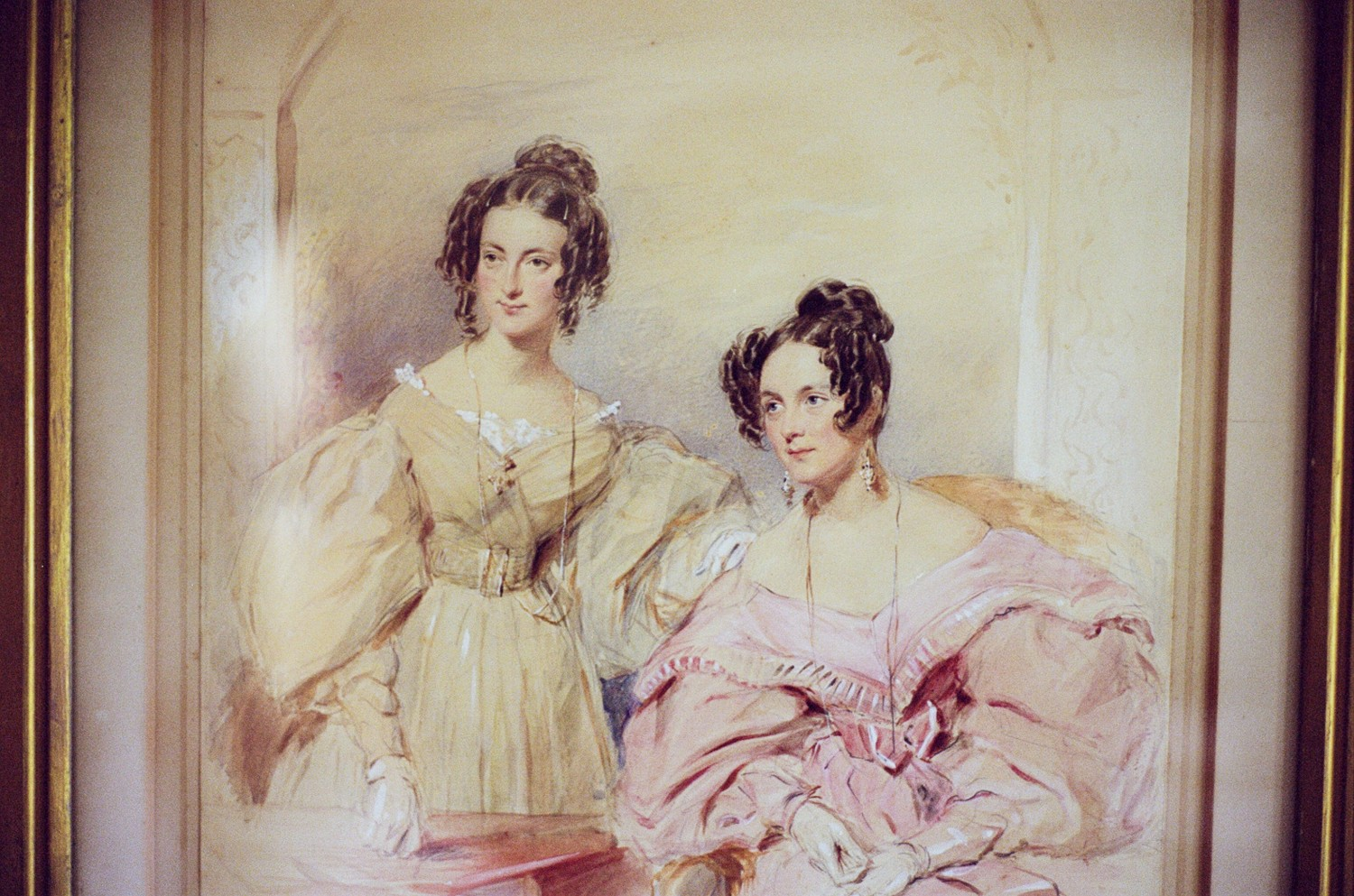 Eliza May Travers and Caroline Jane Travers, 1839